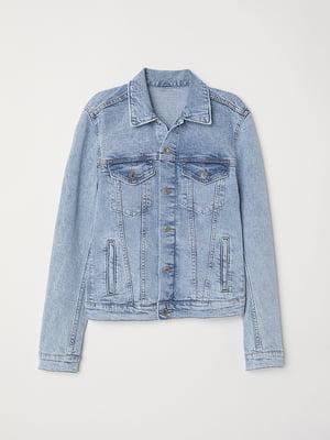 Куртка джинсова блакитна | 5568785
