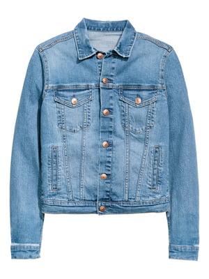 Куртка синя джинсова | 5568787