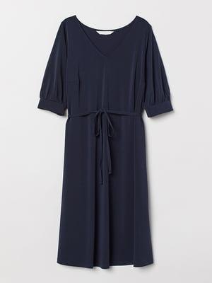 Платье для беременных синее | 5568792