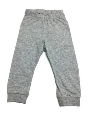 Брюки пижамные серые | 5568813