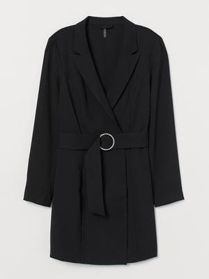 Сукня-жакет чорна | 5568826