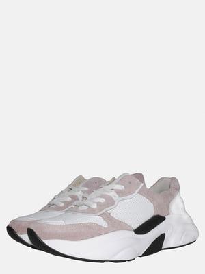 Кросівки біло-бежеві   5561303
