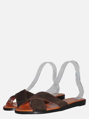 Шлепанцы коричневые | 5568896