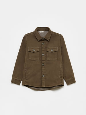 Рубашка цвета хаки | 5536225