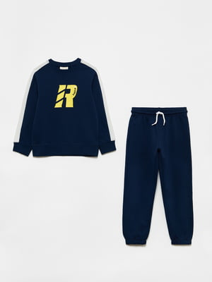 Костюм спортивный: свитшот и брюки | 5561715