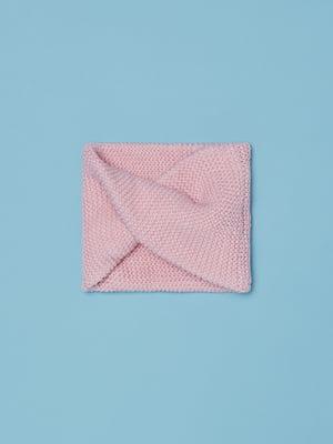 Шарф розовый | 5561724