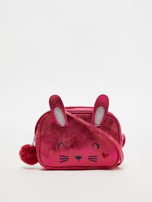 Сумка рожева з малюнком | 5561744