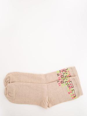 Носки бежевые | 5569009