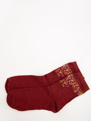 Носки бордовые   5569010
