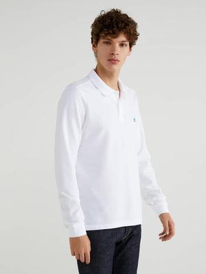 Джемпер-поло белый | 5569311