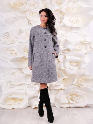 Пальто сіре | 3974739