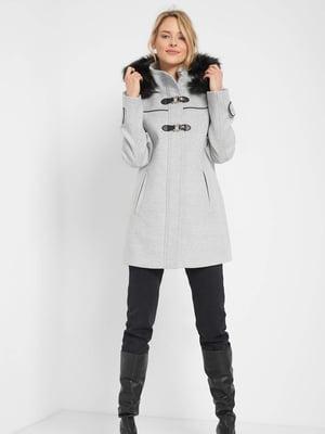 Пальто сіре   5569657
