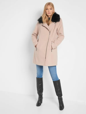 Пальто пудрового цвета | 5569660