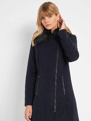 Пальто темно-синее | 5569661