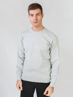 Джемпер светло-серый   5559515