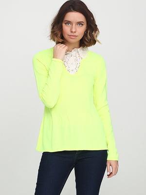 Джемпер лимонного цвета | 5569944