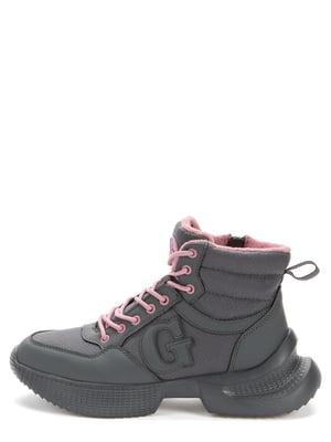 Ботинки темно-серые | 5569468