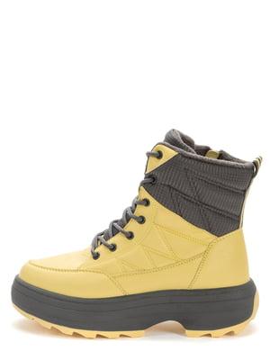 Ботинки желтые | 5569470