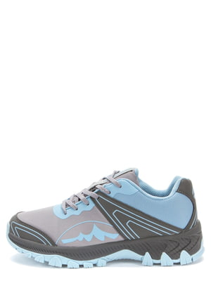 Кроссовки серо-голубые | 5569479