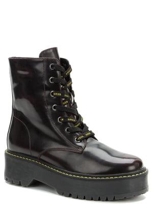 Ботинки бордовые | 5569494