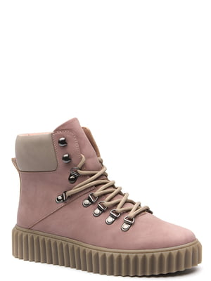 Ботинки темно-розовые | 5569499