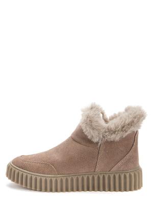 Ботинки темно-бежевые | 5569500