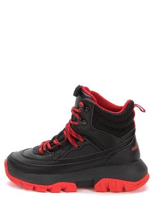 Ботинки черно-красные | 5569510