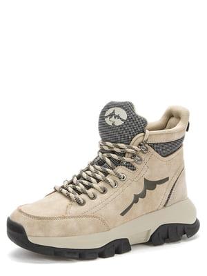 Ботинки бежевые | 5569511
