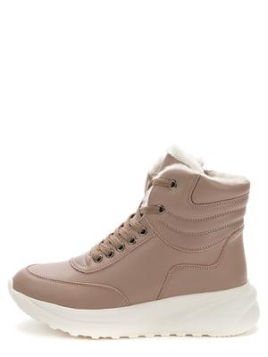 Ботинки темно-бежевые | 5569515