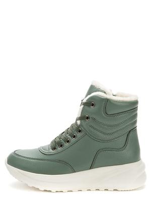 Ботинки оливкового цвета | 5569516