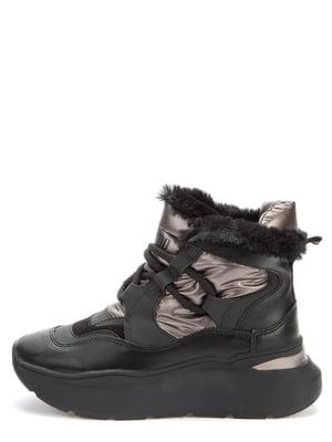 Ботинки черно-бронзового цвета | 5569520