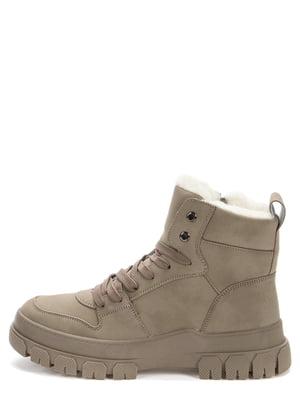 Ботинки темно-бежевые | 5569521