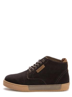 Ботинки темно-коричневые | 5569527