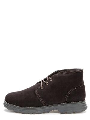 Ботинки темно-коричневые | 5569529