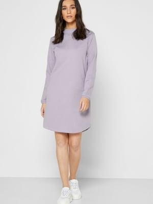 Платье сиреневого цвета | 5562291