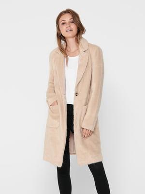 Пальто бежевое | 5569733