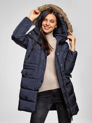 Пальто синее | 5571075
