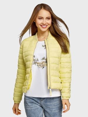 Куртка жовта  | 5571079