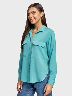 Блуза голубая | 5571108