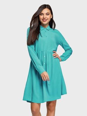 Платье бирюзовое | 5571173