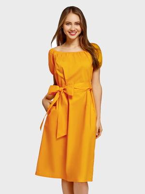 Платье желтое | 5571179