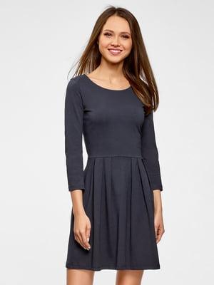 Платье темно-синее | 5571289