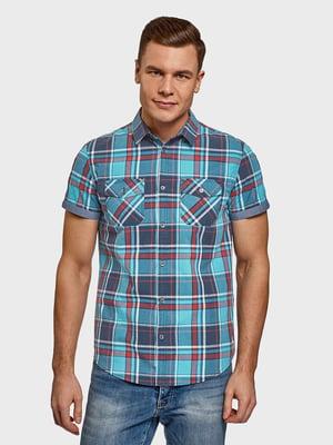 Рубашка клетчатая | 5571680