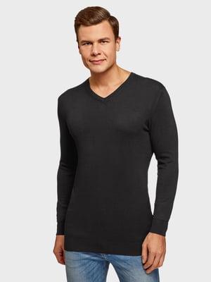 Пуловер чорний | 5571695