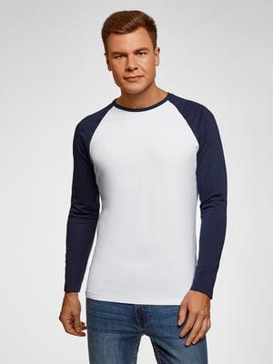 Реглан бело-синий | 5571822