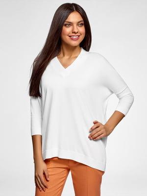 Пуловер білий  | 5571959