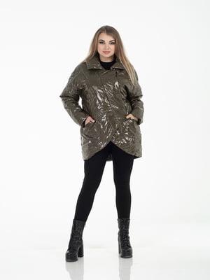 Куртка травяного цвета   5573831