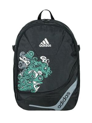 Рюкзак спортивный черный с логотипом | 5573901