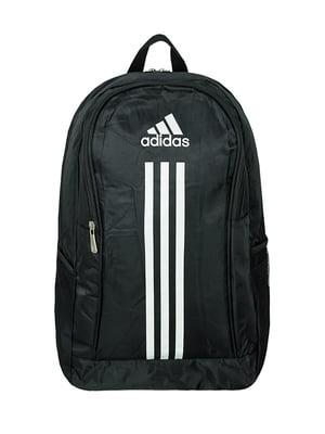 Рюкзак спортивный черный с логотипом | 5573903