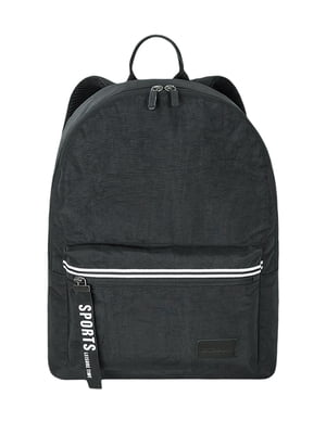 Рюкзак городской черный | 5573914